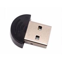 Mini Bluetooth Adaptador Usb 2.0 Pc O Lap 100mts