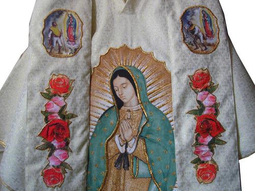8a78ac02d52 Virgen De Guadalupe Casulla Y Ornamentos Tela Brocada Fina. Precio    3800  Ver en MercadoLibre