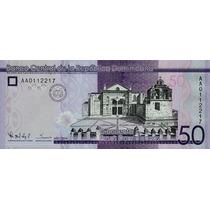 Grr-billete República Dominicana 50 Pesos Dominicanos 2014