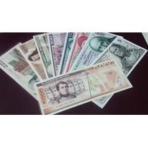 Coleccion De 9 Billetes Sin Circular!!! $5.00 A $5 Mil