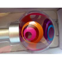Cortinero Nickel Satinado Con Remate Multicolor 71-122 Cm