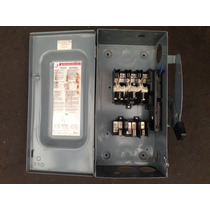 Switch De Navajas 3 X 100 Amp Marca Square D