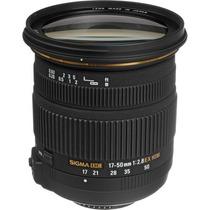 Sigma Lente 17-50mm F/2.8 Ex Dc Os Hsm Para Nikon