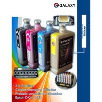 Tinta Galaxy Eco-solvente 3.5 Pl P/cabezal Epson Dx5/dx4