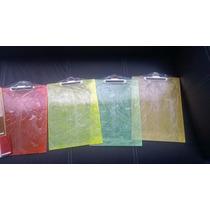 Tablas De Acrilico 3mm Tamaño Carta Varios Colores 100 Pzas