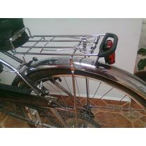 Portabultos Reforzado Retro Vintage Para Bicicleta