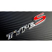 Emblema Type S Honda Civic Accord