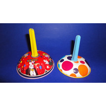 Vintage Juguete Campanas Lamina Tin Toys