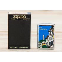 Zippo San Francisco, En Acero Pulido. Nuevo
