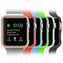 [6 Color Pack] De Apple Caja De Reloj Fintie [ultra-slim] Li