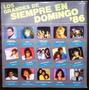 Los Grandes De Siempre En Domingo 86, Lp Nuevo, Lucía Méndez