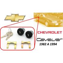 82-94 Chevrolet Cavalier Chapas Puertas Llaves Color Negro