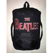 Mochila ,hielera, Backpack , The Beatles, Bordada