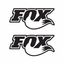 Sticker - Calcomania - Vinil - Logo Fox Motocross Cola