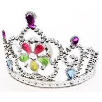 12 Padrisimas Coronas Plasticas Con Cetro Fiesta De Princesa