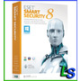 Eset Smart Security 8 - 1 Año 2 Computadoras - Facturamos
