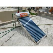 Boiler Solar Hidrosol 84lts De 8 Tubos Acero Inoxidable