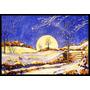 Salida De La Luna Del Invierno Por Roy Avis Mat Interiores O