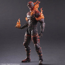 The Metal Gear Solid V Man On Fire Figura Play Arts Kai