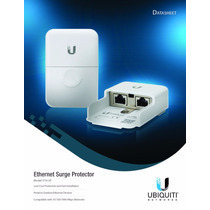 Protector De Descarga Ubiquiti Network Eth-sp