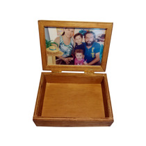 Caja Portaretrato Portallaves. Envio Gratis. Madera Natural