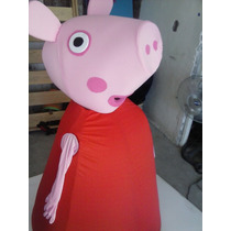 Botarga Peppa Pig Original Resistente Disfraz
