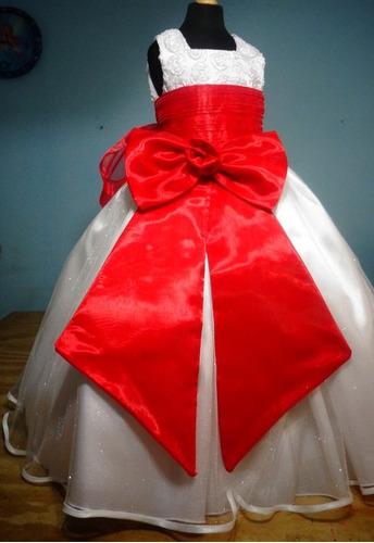 478434741 Vestido De Paje Pajecita Para Niña Tipo Tutu Color Rojo en venta en ...