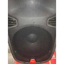 Bafle Amplificado 15 Recargable Bluetooh Usb Fm Eq 1 Micro