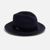 Sombrero Lacoste Original Eclipse Straw Fedora Paja