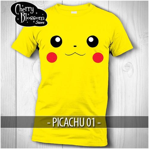 107cb7bfd81a3 Gratis Envio! Playera Picachu Pokemon Go Kawaii en venta en Gustavo ...