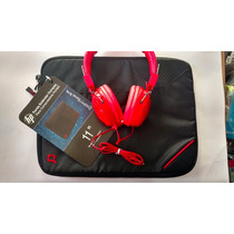 Funda Hp Compaq 11 Para Laptop/tablet Y Audifonos Vorago