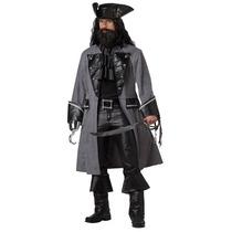 Disfraz Adulto Pirata Barbanegra Disfraces Halloween