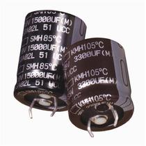 Capacitor Electrolítico De Aluminio 220uf 450v 105°c 20%