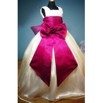 Vestido De Paje Pajecita Para Niña Color Bugambilia En Venta