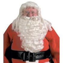 Barba Y Peluca De Santa Claus De Navidad Envio Gratis
