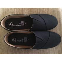 Zapatos Alpargatas Negras De Hombre Talla 26