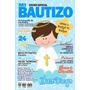 Invitacion Bautizo-tipo Revista O Postal-imprimible