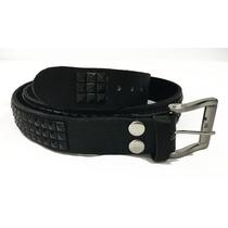 diseñador de moda f986a 71897 Cinturon 100% Piel Estoperoles Remaches Skinhead Punk Cint36 ...