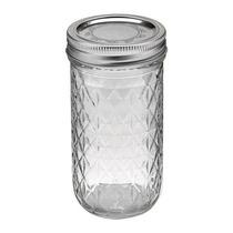 Mason Jar Ball De 12oz. Frascos Bebidas Decoración Caja C/12