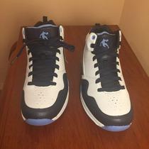 Tenis Basketball Infantil And1 Azules/blanco, 3 Mx, 23 Cm