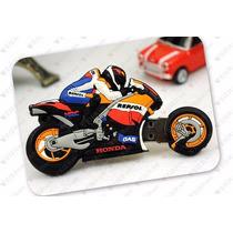 Memoria Usb Motocicleta Deportiva Honda Repsol 16gb