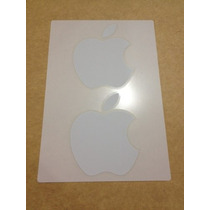 X2 Apple Estampas Stickers Calcomanías Originales