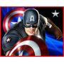 Kit Imprimible Capitan America Diseñá Tarjetas Invitaciones