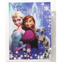 Disney Frozen Diario Secreto De Lujo (importado) Nuevo