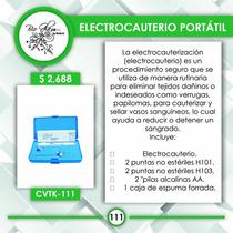 Electrocauterio Portatil Puntas Intercambiables