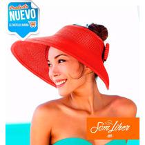 Mayoreo Sombrero De Playa P/ Dama, Vicera Envío Gratis Moda