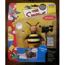 Figura Nueva Bubble Bee Man Los Simpsons Playmates Serie 5