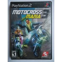 Motocross Mania 3 Para Playstation 2 Ps2 Completo Motos Ymas