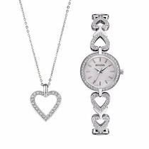 Reloj Bulova Dama 123 Cristales Swarovski 96x136 | Watchito
