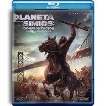 El Planeta De Los Simios : Confrontacion , Bluray + Dvd